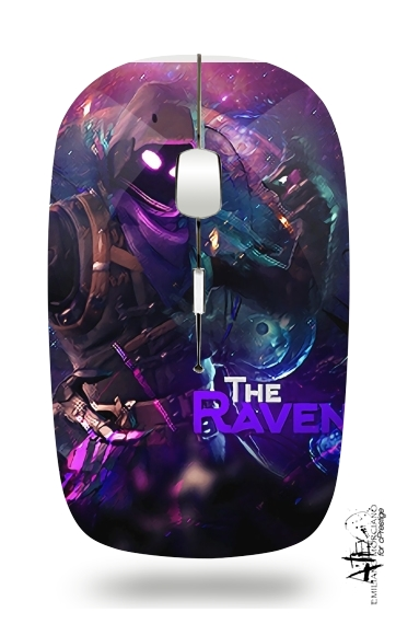 Fortnite The Raven for Wireless optical mouse with usb receiver
