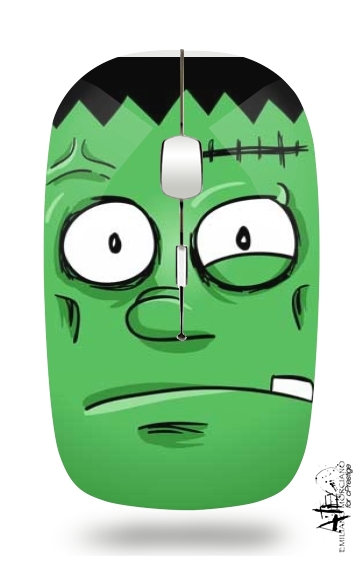 Frankenstein Face for Wireless optical mouse with usb receiver
