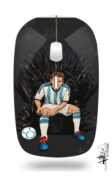 Game of Thrones: King Lionel Messi - House Catalunya for Wireless optical mouse with usb receiver