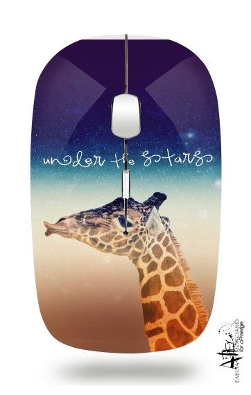 Giraffe Love - Right for Wireless optical mouse with usb receiver