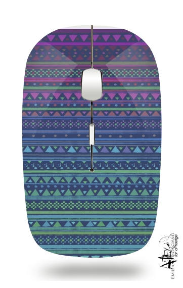 GIRLY AZTEC for Wireless optical mouse with usb receiver