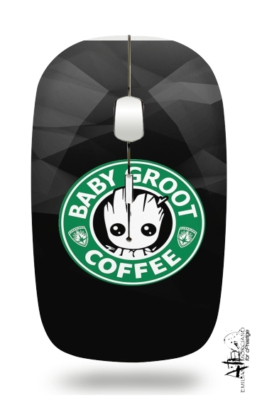 Groot Coffee for Wireless optical mouse with usb receiver