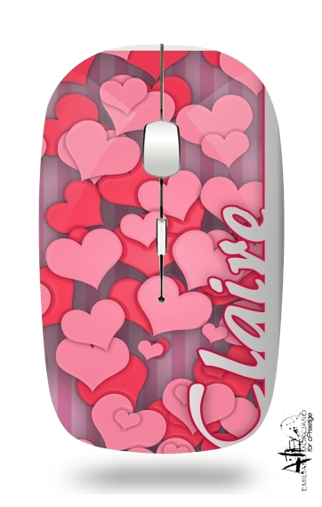 Heart Love - Claire for Wireless optical mouse with usb receiver