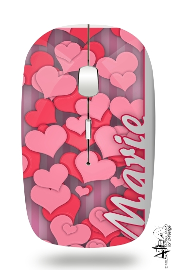 Heart Love - Marie for Wireless optical mouse with usb receiver