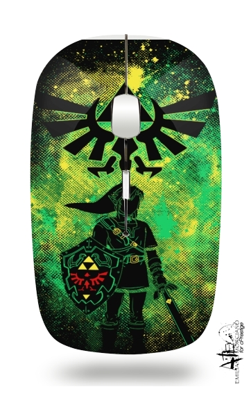 Hyrule Art for Wireless optical mouse with usb receiver