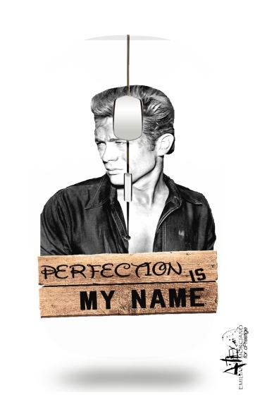James Dean Perfection is my name for Wireless optical mouse with usb receiver