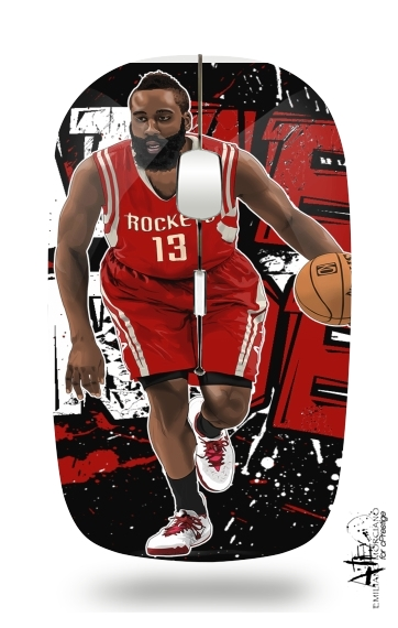 James Harden Basketball Legend for Wireless optical mouse with usb receiver