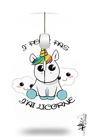 Je peux pas j'ai licorne for Wireless optical mouse with usb receiver