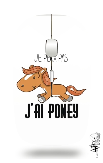 Je peux pas jai poney for Wireless optical mouse with usb receiver