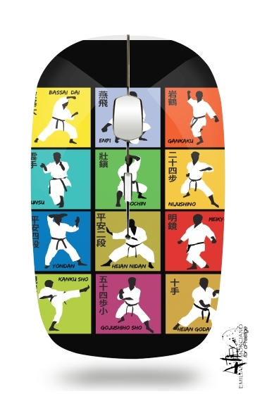 Karate techniques for Wireless optical mouse with usb receiver