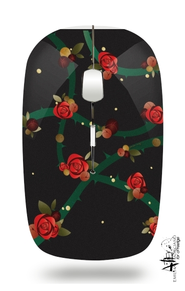 La Vie En Rose for Wireless optical mouse with usb receiver