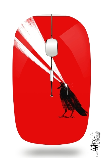 Laser crow for Wireless optical mouse with usb receiver
