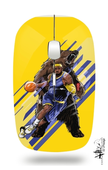 LeBron Unstoppable  for Wireless optical mouse with usb receiver