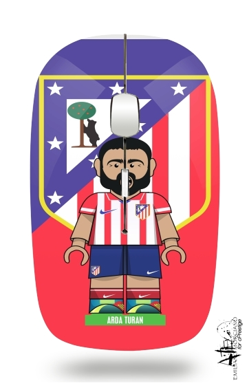 Lego Football: Atletico de Madrid - Arda Turan for Wireless optical mouse with usb receiver