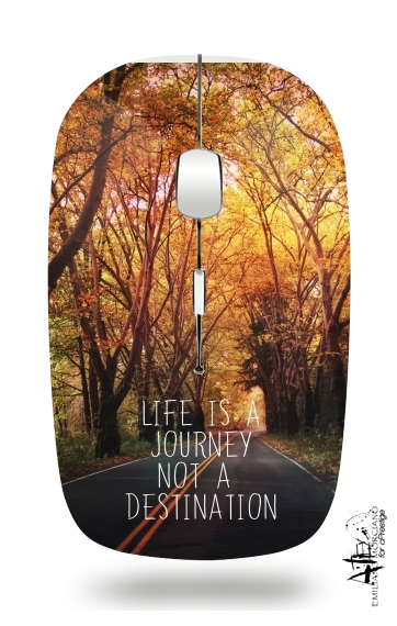life is a journey for Wireless optical mouse with usb receiver