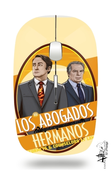 Los Abogados Hermanos  for Wireless optical mouse with usb receiver