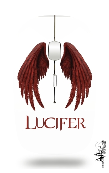 Lucifer The Demon for Wireless optical mouse with usb receiver