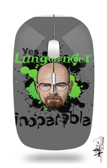 LungCancer Breaking Bad for Wireless optical mouse with usb receiver