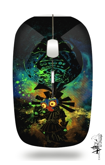 Majora's Art for Wireless optical mouse with usb receiver