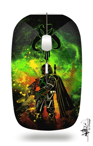 Mandalore Art for Wireless optical mouse with usb receiver