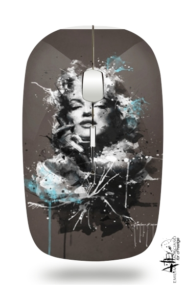 Marilyn By Emiliano for Wireless optical mouse with usb receiver