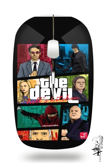 Mashup GTA The Devil for Wireless optical mouse with usb receiver