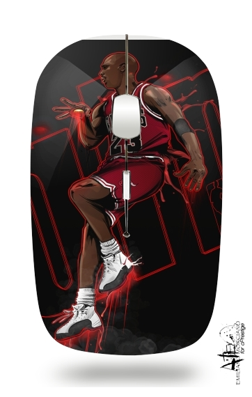 Michael Jordan for Wireless optical mouse with usb receiver