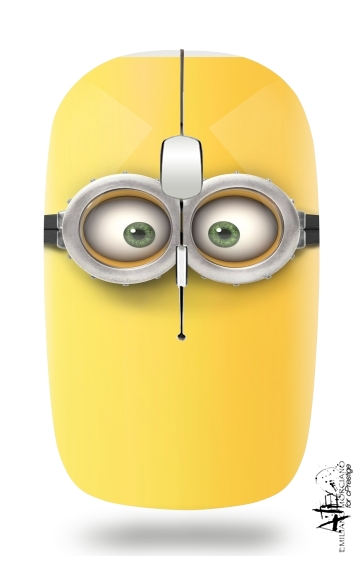 minion 3d  for Wireless optical mouse with usb receiver