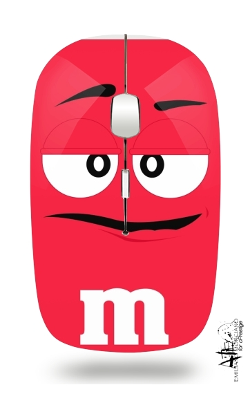 M&M's Red for Wireless optical mouse with usb receiver
