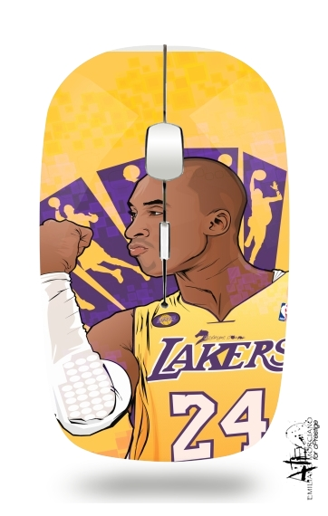 NBA Legends: Kobe Bryant for Wireless optical mouse with usb receiver