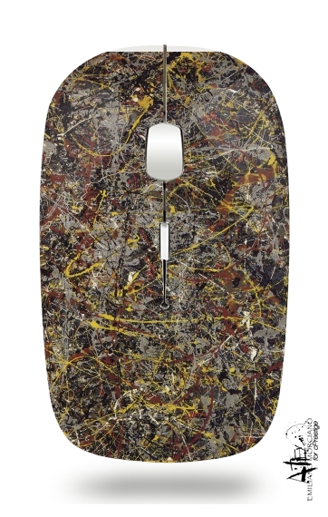 No5 1948 Pollock for Wireless optical mouse with usb receiver