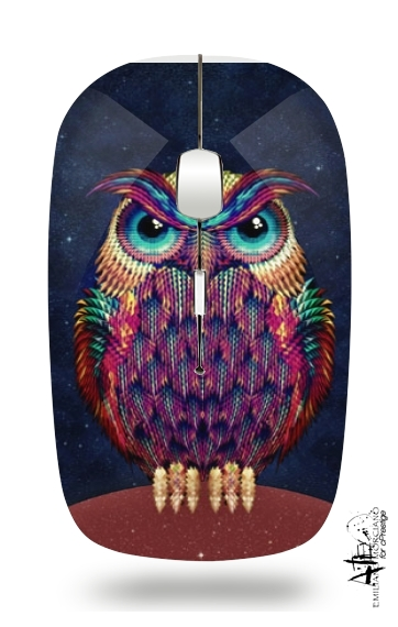 Owls in space for Wireless optical mouse with usb receiver