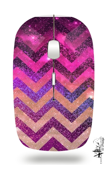 PARTY CHEVRON GALAXY  for Wireless optical mouse with usb receiver