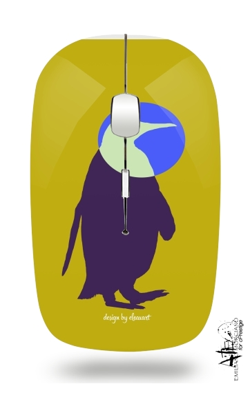 Penguin for Wireless optical mouse with usb receiver