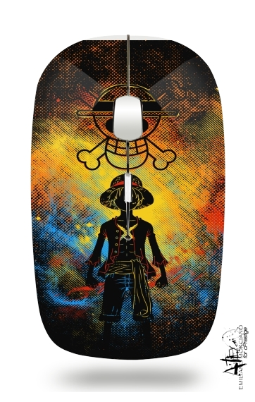 Pirate Art for Wireless optical mouse with usb receiver