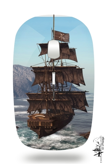 Pirate Ship 1 for Wireless optical mouse with usb receiver