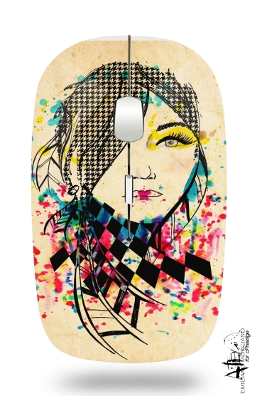 Pocahontas Abstract for Wireless optical mouse with usb receiver