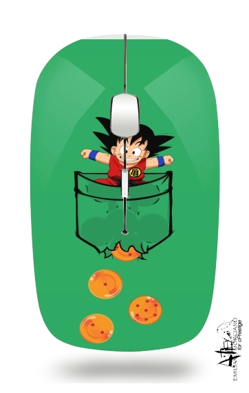 Pocket Collection: Goku Dragon Balls for Wireless optical mouse with usb receiver
