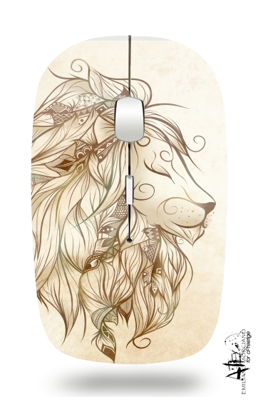 Poetic Lion for Wireless optical mouse with usb receiver