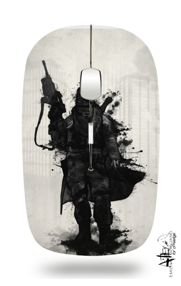Post Apocalyptic Warrior for Wireless optical mouse with usb receiver