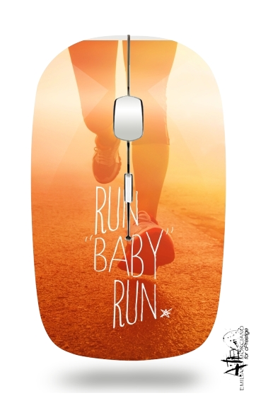 Run Baby Run for Wireless optical mouse with usb receiver