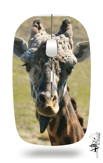 Sassy Pants Giraffe for Wireless optical mouse with usb receiver