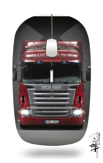 Scania Track for Wireless optical mouse with usb receiver