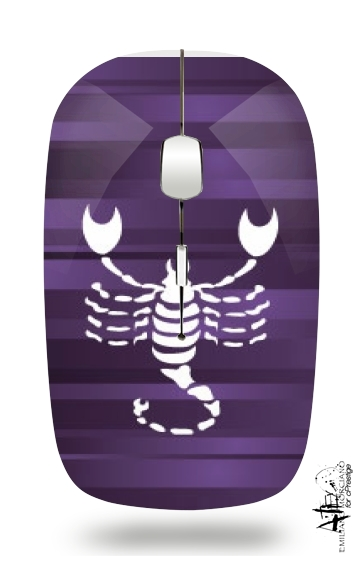 Scorpio - Sign of the zodiac for Wireless optical mouse with usb receiver