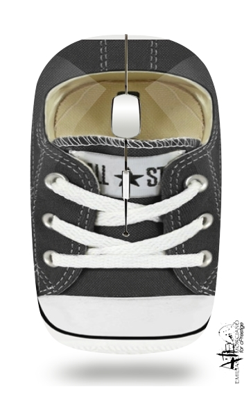 All Star Basket shoes black for Wireless optical mouse with usb receiver