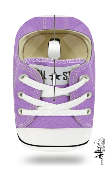 All Star Basket shoes purple for Wireless optical mouse with usb receiver