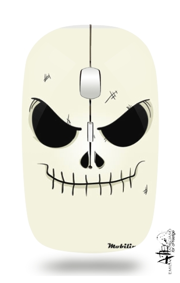 Skeleton Face for Wireless optical mouse with usb receiver