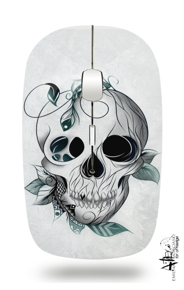 Skull Boho  for Wireless optical mouse with usb receiver