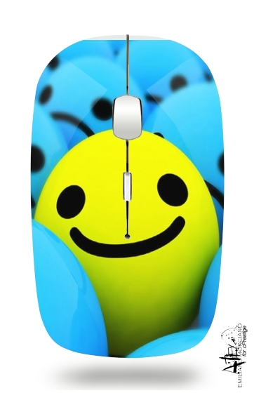 Smiley - Smile or Not for Wireless optical mouse with usb receiver