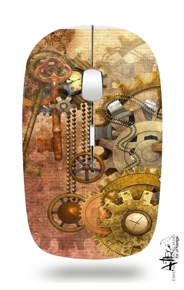 steampunk for Wireless optical mouse with usb receiver